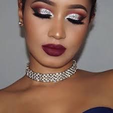 glitter makeup looks silver glitter makeup