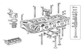 mgb engine 18g ga cylinder head assembly