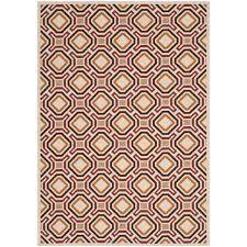 safavieh veranda creme indoor outdoor rug 8 x
