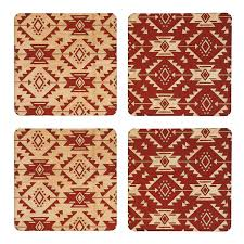 Navajo Pattern Adorable Navajo Pattern Coasters Benoit's Design Co Made In Maine