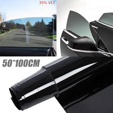 Car Window Tint Film Kit 35 Light Smoke 50 100cm 90 Anti Uv Window Tint Shade Film Tinting Roll Kit