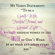 my vision statement sample my life s vision statement travis