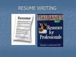 Presentation Resumes Resume Writing Authorstream