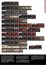 Fanola Colour Chart Amr Hair And Beauty Catalogue