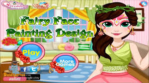 watch fairy face painting design game funny makeover games s make up videos video dailymotion