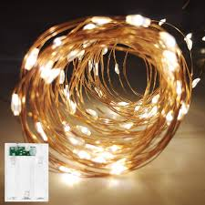 Mini String Lights Battery Operated Led String Lights Battery Operated Fairy String Lights Led Mini String Light 100 Led 33ft Battery Powered Copper Wire Fairy Starry Lights For Bedroom