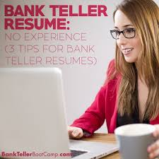 Bank Teller Resume No Experience Archives