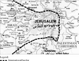 Bildergebnis für jerusalem divided map images