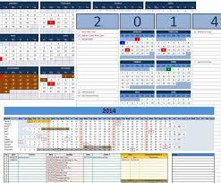 Customizable Calendar 2015 2014 Custom Calendars Officetemplates Net
