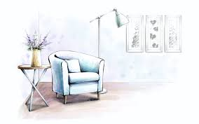 Furniture Sketches Painted Indoor Home 9623 Inredningskurs Pinterest Interiors