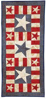 BLOCK Friday: Patriotic Quilts - Fons & Porter - The Quilting Company & My Patriotic Table Runner - Patriotic Quilts Adamdwight.com