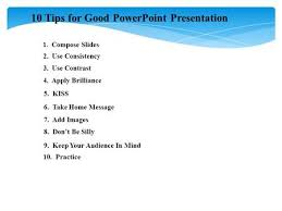 powerpoint presentation guidelines tips on making and giving 10 tips for good powerpoint presentation