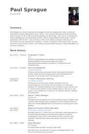 It Intern Resume Samples Visualcv Resume Samples Database