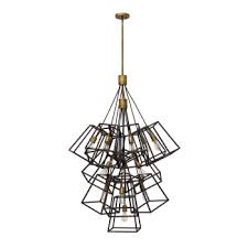 houseology collection frank 13 light chandelier br