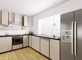 High Quality Moderne Küche Mit Einem Side By Side Kühlschrank