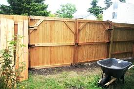 double gate fence fence gate design plans new building large cedar double gate structural wood fence