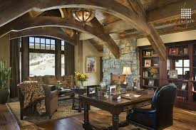 country home office. 2 tags country home office with cathedral ceiling exposed beam flush light modern empire 3