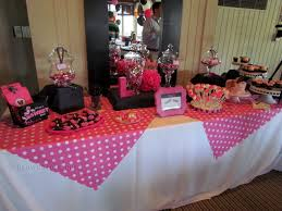 Pink And Black Minnie Mouse Decorations A Minnie Mouse 1st Birthday Party With A Twist Grow Gators