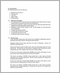 Business Plan Template Electrical Company Bar Business Plan Template