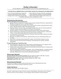 Property Manager Resume Templates – Betogether