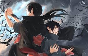 Customize and personalise your desktop, mobile phone and tablet with these free wallpapers! Wallpaper Child Crows Brothers Naruto Sharingan Brothers Itachi Uchiha Uchiha Sasuke Uchiha By Blackmarlb0r0 Images For Desktop Section Art Download