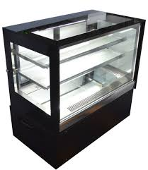 countertop refrigerated cake showcase commercial bakery display cabinet 220v