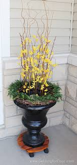 Urn Decorations For Spring 100 Tips to Enhance Your Front Entry Outdoor Seating and Decor 2