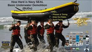 how hard is navy seal basic underwater