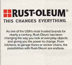 rust oleum changes everything
