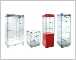 Free Standing Shop Display Units Magnificent Glass Display Cabinets And Trophy Cabinets Shopkit Group UK