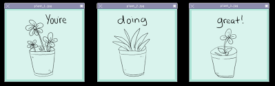 Aesthetic cute drawing Peach Animated Gif Transparent Plants Positive Share Or Download Cute Plants Plant Unixtitan Transparent Plants Positive Gif On Gifer By Mazurn