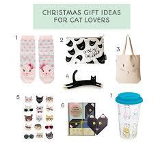 Christmas gift ideas for the cat lover - cat socks, print, origami, brooch
