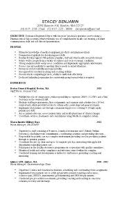 Medical Assistant Objective Statement Resume Of A Medical Assistant Wikirian Com
