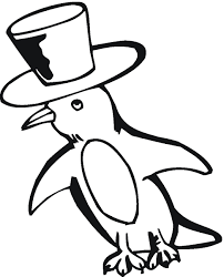 Baby Penguin Coloring Pages Getcoloringpagescom