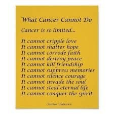 Cancer Inspirational Quotes