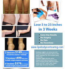 Contour Light Body Sculpting Before And After Pricing Lipo Body Contouring