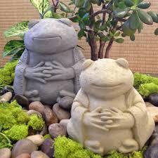 frog garden statue zen frog garden sculpture statue