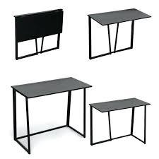 foldable office desk. Foldable Office Desk Furniture Compact Flip Flop Folding Computer Laptop Table Black Home .