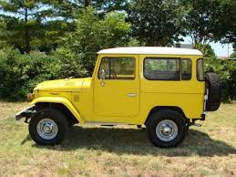 Toyota Land Cruiser Suv Yellow For Sale Xfgiven Vin