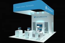 Trade Show Booth Design Ideas secureauth 20 x 30