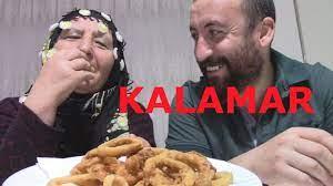 KALAMAR NEDİR   İLK KEZ KALAMAR YEDİK!!!   TÜRKÇE MUKBANG   CALAMARİ EATİNG  SHOW