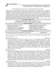 resume for programmer software developer cipanewsletter software programmer resume s developer lewesmr
