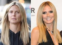 heidi klum before and after makeup look makeup tutorials makeuptutorials