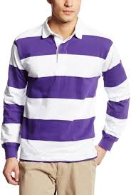 charles river apparel men s classic rugby shirt purple white x large souq uae