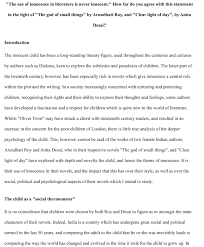 literary essay outline example essay topics cover letter examples of literary essay