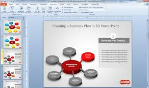 ppt business plan presentation free business plan template ppt free 3d business plan diagram idea