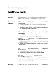 Spanish Resume Template Amazing Teacher Resume Examples Generalresumeorg
