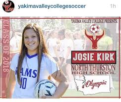 Blackhills FC - Congratulations to Josie Kirk for signing to play soccer at  Yakima Valley College! | Facebook