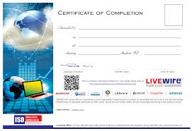 What Is Course Completion Certificate Plc Training Institute Plc Programming Certification Course