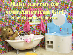 american girl room project on the